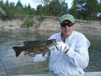 Summer and early fall is smallmouth time!