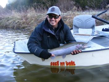 Jason King with a nice, late season buck. Dec 2015