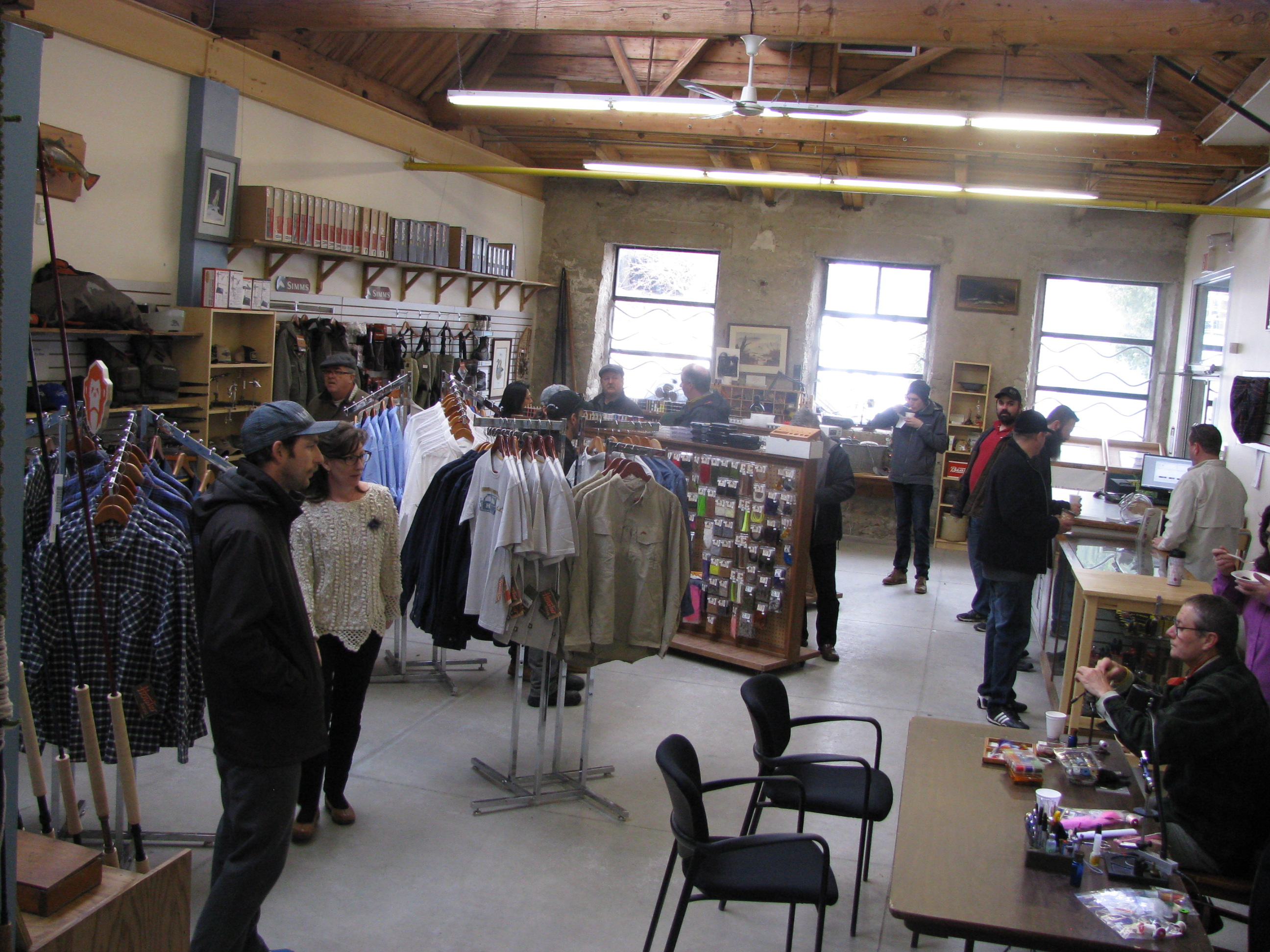 The new Fly Shop in Fergus