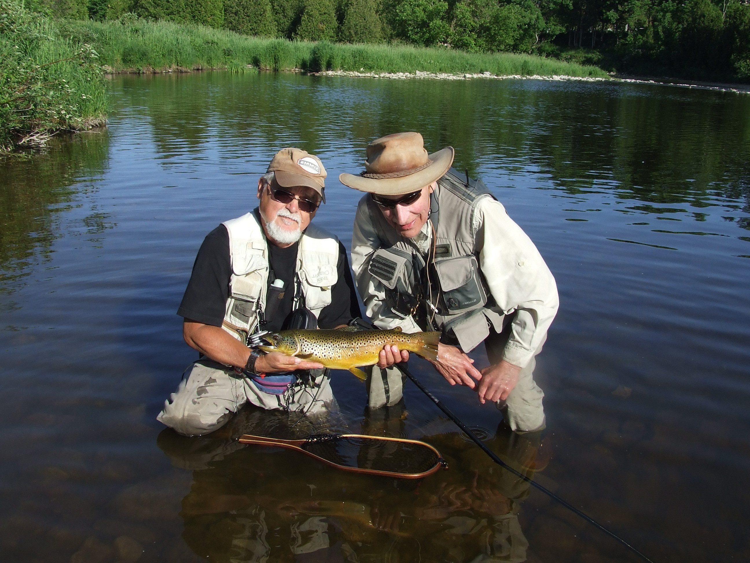 The grand river tailwater in review grand river for Grand river fishing
