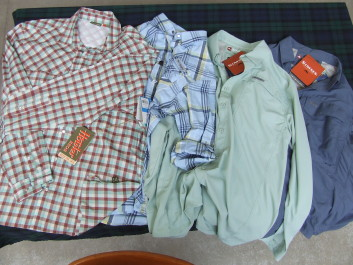 Shirts from Howler, Columbia and Simms.