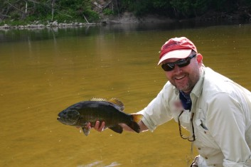 Saugeen River smallmouth!